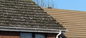 Gutter and roof cleaning in Sevenoaks and Kemsing